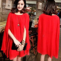 Wholesale New product Spring And Summer maternity clothing plus size Cloak chiffon dress Prom Dress