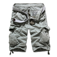 Wholesale New Autumn summer Fashion for men Military Training camo cargos Outdoor Camouflage cargo mens the short pants K35