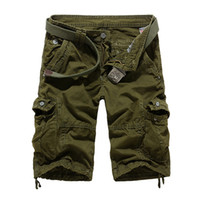 Wholesale New Autumn summer Fashion for men Military Training camo cargos Outdoor Camouflage cargo mens the short pants K508