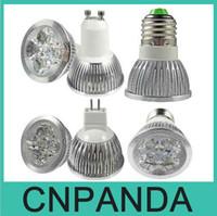 Wholesale High Power CREE W x3W Dimmable GU10 MR16 E27 E14 GU5 B22 Led Light Lamps Spotlight Led Bulbs
