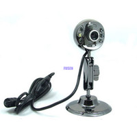 . Yes; Yes; New PC Laptop Desktop ultra clear 1200 w USB 2.0 Exempt from USB Host 6 LED Night Vision Web Camera Computer Camera