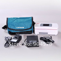 Wholesale 2 C C medical cooling device diabetic mini insulin fridge battery working time hours