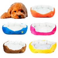 Wholesale Lovely Pet Puppy Dog Cat Soft Berber Fleece Warm Nest Bed Mat