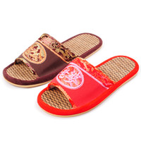 Wholesale 2012 women Bamboo Slippers summer slip resistant at Home lovers Slipper Free ship over KC