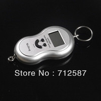 Pocket Scale <50g 40kg Free shipping 20g-40Kg Digital Lage Fishing Weight Scale 8041