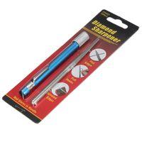 Wholesale 3in1 Diamond Sharpener Pen file Hunting Fishing Pocket Knife Saw Hook Outdoor
