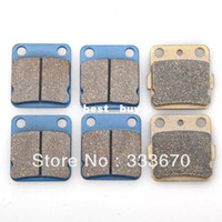 Brake Disks New 1 New Front Rear 12pcs Brakes Pad For Yamaha ATV 125 RA Raptor YFM 350 Warrior Wolverine F YFZ350 Banshee1990-2006