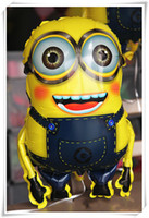 Wholesale Lovely Despicable me minion hydrogen balloon cartoon balloon children s toy CM inch X58cm Inch Foil balloon party supply