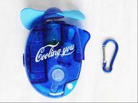 Wholesale Mini Portable Deluxe Electric Water Spray Mist Sport Beach Travel Cooling Fan