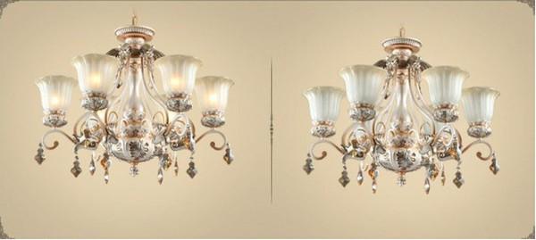 2014 Nuevo estilo europeo ModernClassical araña de cristal de la ...