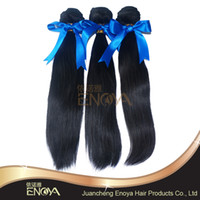 Brazilian Hair Straight 100% Virgin Human Hair Brazilian Virgin Human Hair Weave Bundles 3 pcs lot Free Shipping Natural Color Can Be Dyed For Your Nice Hair