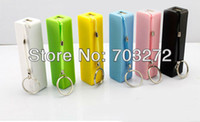 Wholesale set Free ship mAh mobile power supply power bank Powerbank multi color support with Perfume taste usb micro cable