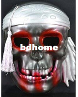 Resin Halloween Party Masks FREE SHIPPING!!!PROM dress up Halloween mask plating pirates mask skeleton mask!Hot sale