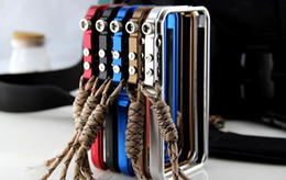 Wholesale Bumper for iphone s s fashion luxury tought metal armor mobile phone bags amp cases accessories amp covers
