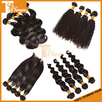 Straight remy weave hair straight - 5A Brazilian Indian Malaysian Peruvian Virgin Hair Extension Human Hair Weave bundles Cheap Remy Hair Weft Straight Curly Loose Body Wave