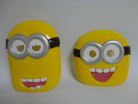 Wholesale Fashion Despicable Me cm cm Despicable Me Minion Masquerade Halloween Carnival Party Masks Cosplay Mask