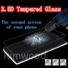 Wholesale 2 D Tempered Glass MM H Screen Protectors For Huawei Honor C Explosion Proof Protective Film With No Chinese Word Retail Package
