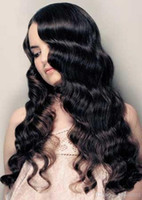 swiss lace wig - hot sale inch wavy full lace wig in stock best swiss virgin malaysian human hair b natural black color density