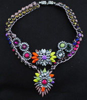 Wholesale 2014 new exaggerated volleyball gifts necklace for Women pendant Statement necklaces Fashion Jewelry RC140688