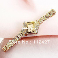 Wholesale new fashion diamond bracelet wach for women rhinestone watches women ladies brand dress watch EMSX20147058