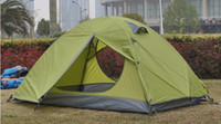 Wholesale of outdoor camping storm door double luxury Camping Tent Camping wild genuine