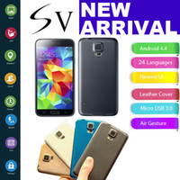 Wholesale S5 SV GT I9600 inch MTK6572 Dual Core colors Android4 Quad Band Health Care WCDMA Camera WiFi G Unlocked Smart Mobile Cell Phone