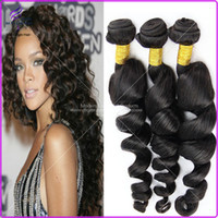 black human hair weave