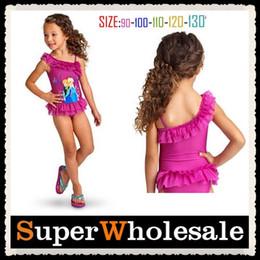 Wholesale Frozen Girls Swimwear Bikini Children Swimwear Girls Swimsuit Princess Anna Elsa Swimwear Bikini Size