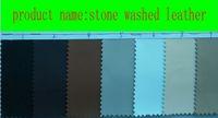 Wholesale hot sell brand new fashion pu stone washed leather XTNB kind colors U choose yard