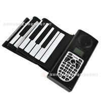 Wholesale Free DHL Keys Keys Better Handle Portable Flexible Roll Up Electronic Piano Soft Keyboard Midi Digital Synthesizer