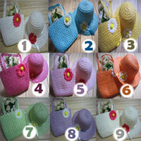 Wholesale Baby s Sunflower Straw Hats and Bag Korean Style Designs Y Children s Accessories