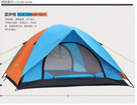 Wholesale folded tent camping tent camping tentage sun shade waterproof rainproof tent Outdoor supplies people beach automotive