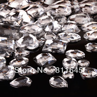 Quilt Accessories Rhinestones Clear Clear Mixed Size Shape Flat Back Rhinestone 100PCS 3D Acrylic Flatback Rhinestones DIY Phone case Nail art design deco supplies