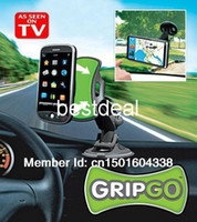 Wholesale High Quality gripgo grip go mobile phone holder GPS Car Holder Hands Free Phone Mount COLOR BOX PACKING