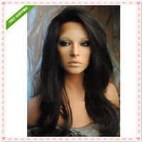 Wholesale 7A grade cheap wigs indian remy virgin human hair wigs full lace amp lace frontal with bleach knot baby hair