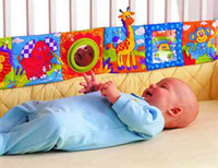 Wholesale Lamaze Book Comic Book Cloth Books Baby Early Development Toys Fairy Tale Story Baby Plush Toy