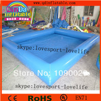 Wholesale Cheap inflatable pool swimming pvc pool plastic bathtub for adult