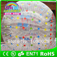 Cheap human hamster balls Cheaper Inflatable bumper ball, body zorb ball with PVC