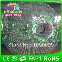 Cheap Exciting PVC inflatable zorb balls,inflatable human hamster ball,human sized hamster ball
