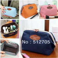 Cosmetic Cases Yes Solid 2014 Cosmetic Bag in Bag Beautician Neatly Collect Storage Handbags Good Quality Nylon Cosmetic&Sanitary Napkin Organizer Bags