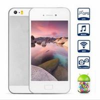 Wholesale Goophone s MTK6572 i5s Unlocked Keyboard Inch Retina Screen Dual Core G Wifi IOS Menu Micro Sim LED