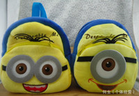 Wholesale New Arrive Cute Cartoon Despicable Me Minions Backpack Children Boy Girl School Bagpacks Kid Children Bags Rucksack