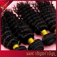 Malaysian Hair Curly  free shipping hair 3pcs lot unprocessed virgin Malaysian water wave Curly or kinky curly hair brazillian wet and wavy hair weave