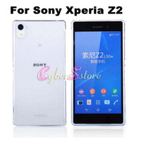 cover For Sony Xperia Z2 - Sony Xperia Z2 Case Hot Selling Clear Crystal Transparent Ultra Slim Plastic Hard Back Case Cover For Sony Xperia Z2 D6503 L50w