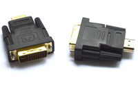 Adapter DVI  HDMI DVI adapter High Speed DVI 24+1 male to HDMI Male cable Converter Plug hdmi to dvi adapter hdmi connector for LCD HD TV