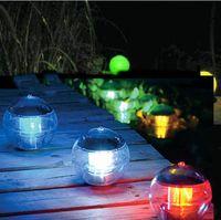IP65 best pond lights - New Waterproof Solar Light Floating Pond Lamp Color Changing Lamp Lamp Solar Ball Light LED Light Best Outdoor Lighting