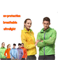 Wholesale 2016 lover s Ultra thin portable quick dry waterproof windproof breathable printing anti uv skin suits blackyak B QM3