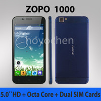 Zopo 5.0 MTK Original ZOPO ZP1000 MTK6592 Octa Core Phone 5inch HD 14.0MP Camera 16GB ROM 1280x720 Pixels Android 4.2 Dual Sim
