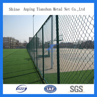 Easily Assembled chain link fence - Chain Link Wire Mesh Fence for sports or playground