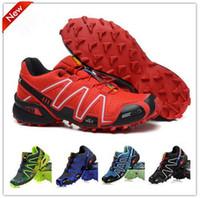 Wholesale 2013 Hot Solomon Speedcross Running Shoes Men s France Walking Ourdoor Shoes Climashield Sport CS XT D wings